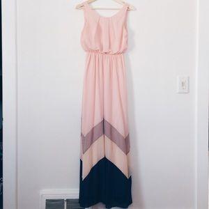 ModCloth Romantic Resplendence Dress in Rose